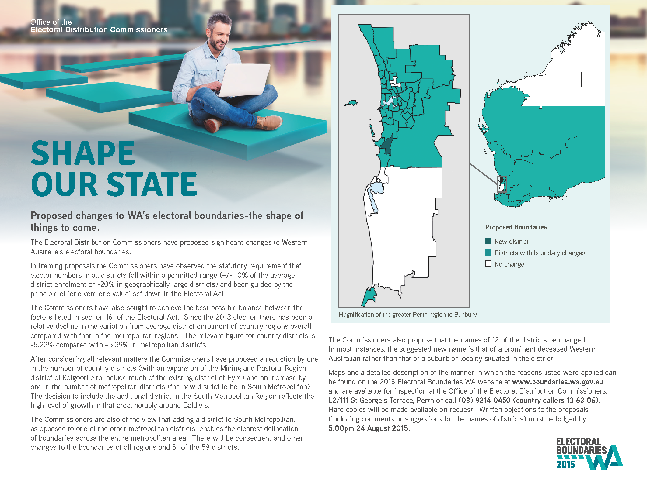 Publications and Resources | Electoral Boundaries WA
